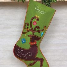 Diy Christmas Stockings 5 214x214 - 33+ DIY Christmas Stockings Ideas For Everyone In The Family