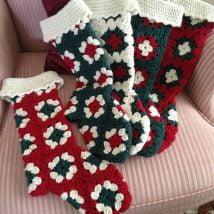 Diy Christmas Stockings 9 214x214 - 33+ DIY Christmas Stockings Ideas For Everyone In The Family