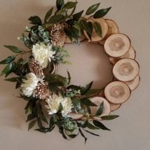 Diy Christmas Wraths 28 214x214 - 35+ Gorgeous DIY Christmas Wreath Ideas to Decorate Your Holiday Season