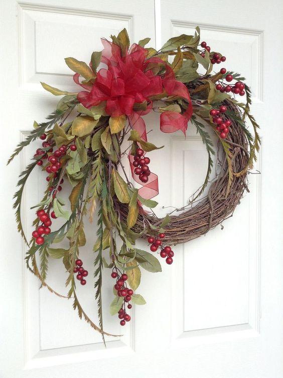 35+ Gorgeous DIY Christmas Wreath Ideas to Decorate Your Holiday Season