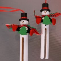 Diy Clothespin Projects 18 214x214 - 30+ Crazy Diy Projects To Reuse Clothespins