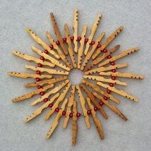 Diy Clothespin Projects 22 214x214 - 30+ Crazy Diy Projects To Reuse Clothespins