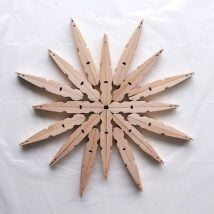 Diy Clothespin Projects 24 214x214 - 30+ Crazy Diy Projects To Reuse Clothespins