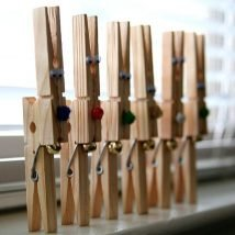 Diy Clothespin Projects 7 214x214 - 30+ Crazy Diy Projects To Reuse Clothespins