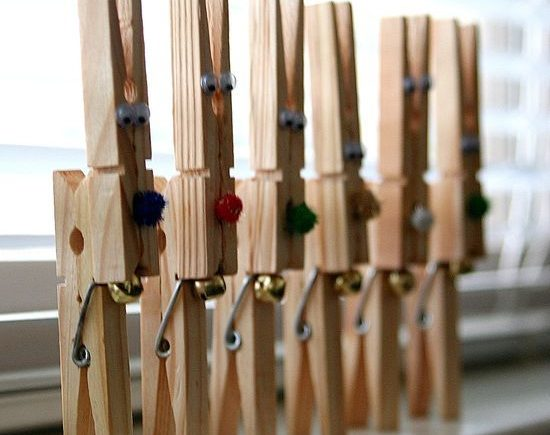 30+ Crazy Diy Projects To Reuse Clothespins