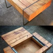 Diy Coffee Tables 21 214x214 - 28+ DIY Coffee Table Ideas for the Caffeine Addicts!