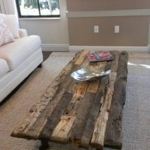 Diy Coffee Tables 27 214x214 - 28+ DIY Coffee Table Ideas for the Caffeine Addicts!