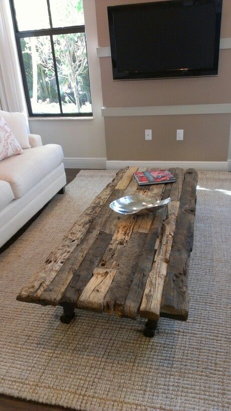 28+ DIY Coffee Table Ideas for the Caffeine Addicts!