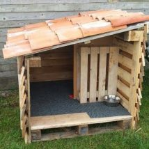Diy Dog Houses 7 214x214 - 33+ DIY Dog House Ideas Your Best Friend Will Absolutely Love