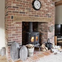 Diy Fireplace Designs 12 214x214 - 25+ Beautiful DIY Ideas for Your Fireplace