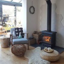 Diy Fireplace Designs 13 214x214 - 25+ Beautiful DIY Ideas for Your Fireplace
