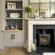 Diy Fireplace Designs 14 214x214 - 25+ Beautiful DIY Ideas for Your Fireplace
