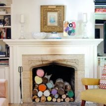 Diy Fireplace Designs 20 214x214 - 25+ Beautiful DIY Ideas For Your Fireplace