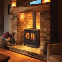 Diy Fireplace Designs 25 214x214 - 25+ Beautiful DIY Ideas for Your Fireplace