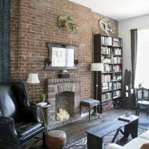 Diy Fireplace Designs 27 214x214 - 25+ Beautiful DIY Ideas for Your Fireplace