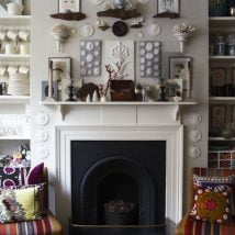 Diy Fireplace Designs 29 214x214 - 25+ Beautiful DIY Ideas For Your Fireplace