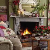 Diy Fireplace Designs 3 214x214 - 25+ Beautiful DIY Ideas for Your Fireplace