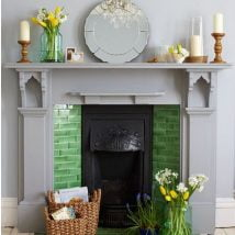 Diy Fireplace Designs 33 214x214 - 25+ Beautiful DIY Ideas for Your Fireplace