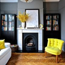 Diy Fireplace Designs 4 214x214 - 25+ Beautiful DIY Ideas for Your Fireplace