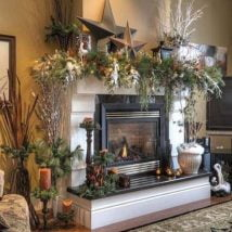 Diy Fireplace Designs 5 214x214 - 25+ Beautiful DIY Ideas For Your Fireplace