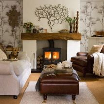 Diy Fireplace Designs 7 214x214 - 25+ Beautiful DIY Ideas For Your Fireplace