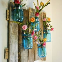 diy flower vases 10 214x214 - 30+ Chic DIY Vases As Pretty As The Flowers Themselves