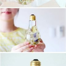 diy flower vases 12 214x214 - 30+ Chic DIY Vases As Pretty As The Flowers Themselves