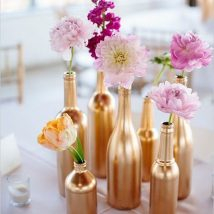 diy flower vases 24 214x214 - 30+ Chic DIY Vases As Pretty As The Flowers Themselves
