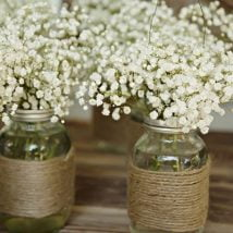diy flower vases 29 214x214 - 30+ Chic DIY Vases As Pretty As The Flowers Themselves