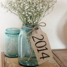 diy flower vases 5 214x214 - 30+ Chic DIY Vases As Pretty As The Flowers Themselves