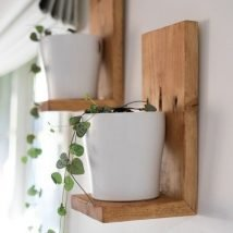 DIY Floating Shelves 1 214x214 - How Can You Make DIY Floating Shelves?