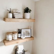 DIY Floating Shelves 3 214x214 - How Can You Make DIY Floating Shelves?
