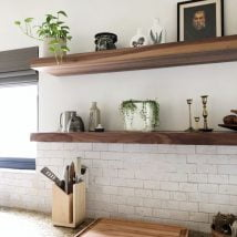 DIY Floating Shelves 4 214x214 - How Can You Make DIY Floating Shelves?