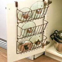 DIY Kitchen Organizer 214x214 - Excellent DIY Kitchen Organizer Ideas