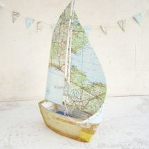 DIY Map Crafts 1 214x214 - Unique DIY Map Crafts Ideas
