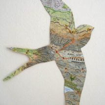 DIY Map Crafts 3 214x214 - Unique DIY Map Crafts Ideas