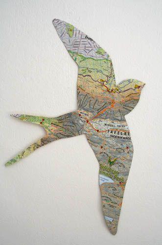 DIY Map Crafts 3 - Unique DIY Map Crafts Ideas