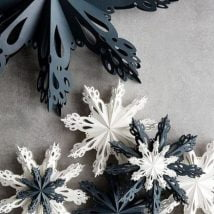 DIY Snowflakes 2 214x214 - How to make DIY Snowflakes at home?