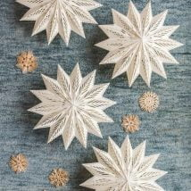DIY Snowflakes 3 214x214 - How to make DIY Snowflakes at home?