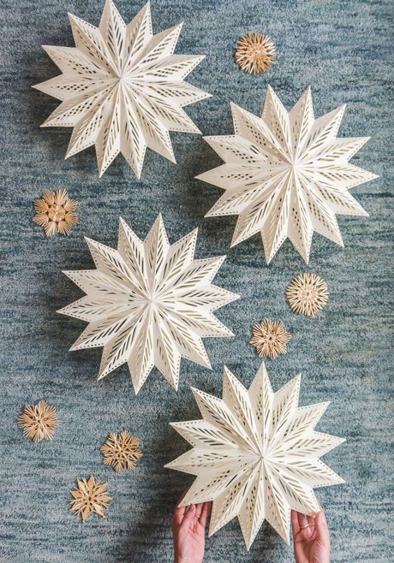 DIY Snowflakes 3 - DIY Snowflakes