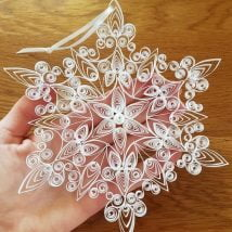 DIY Snowflakes 4 214x214 - How to make DIY Snowflakes at home?