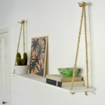 Steps For Building DIY Hanging Shelves 214x214 - Best DIY Hanging Shelves