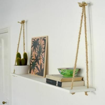 Steps For Building DIY Hanging Shelves - Steps for building DIY Hanging Shelves