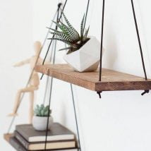 Steps For Building Hanging Shelves 214x214 - Best DIY Hanging Shelves